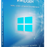hwidgen digital licence activator for windows 10