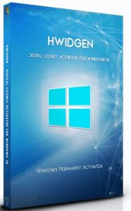 hwidgen digital licence activator for windows 10