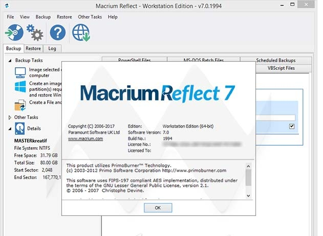 Macrium Reflect CRack Serial Key