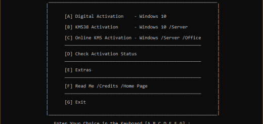 Microsoft Activation Scripts Carck Serial key