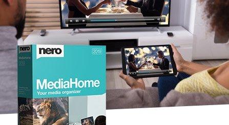 Nero MediaHome 2019 Standard Crack