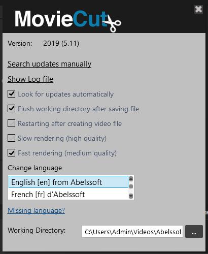 Abelssoft MovieCut Crack Patch