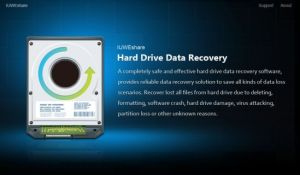 IUWEshare Hard Drive Data Recovery Professional Crack