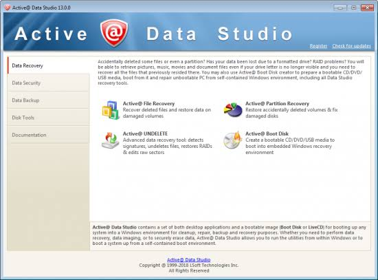 Active@ Data Studio Crack Serila key