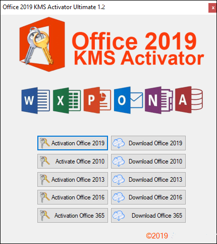 Office 2019 KMS Activator Ultimate Crack PATCH