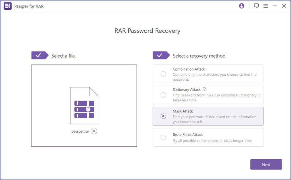 Passper for RAR Crack Serial Key