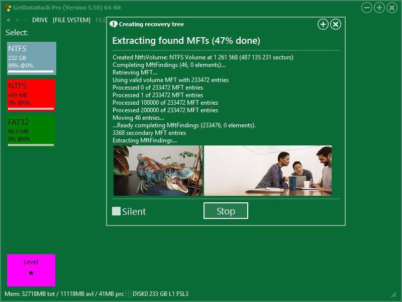 Runtime GetDataBack Pro Crack Serial Key