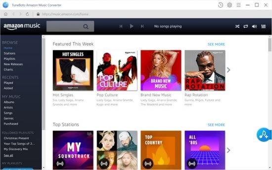 TuneBoto Amazon Music Converter Crack PAtch