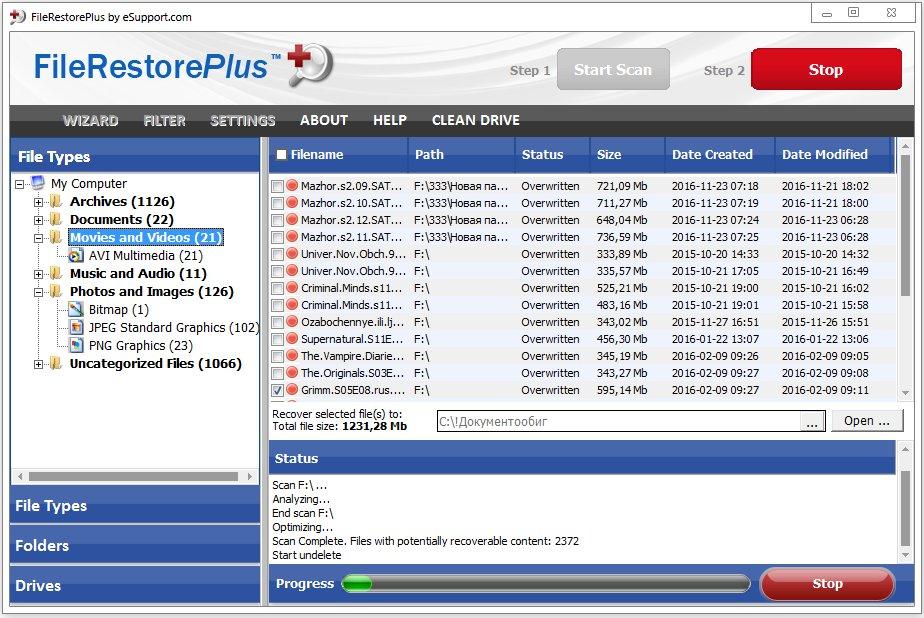 FileRestorePlus Crack Serial key