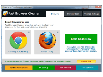 Fast Browser Cleaner Crack download