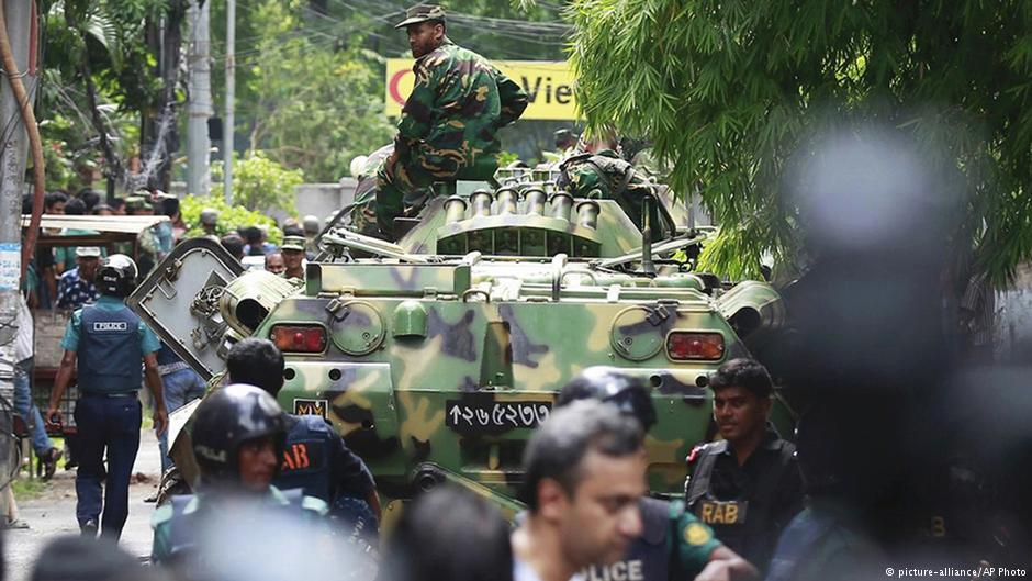 , Interview of Dr. Siegfried O. Wolf with Deutsche Welle: Bangladesh cafe attack one year on: 'Dhaka continues to downplay jihadist threat'