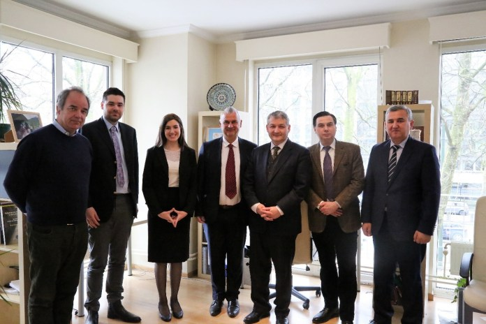 , Meeting with His Excellency Ambassador of Uzbekistan Dilyor Khakimov