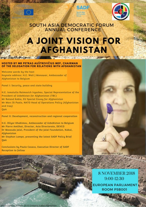 , SADF Annual Conference 'A joint vision for Afghanistan'
