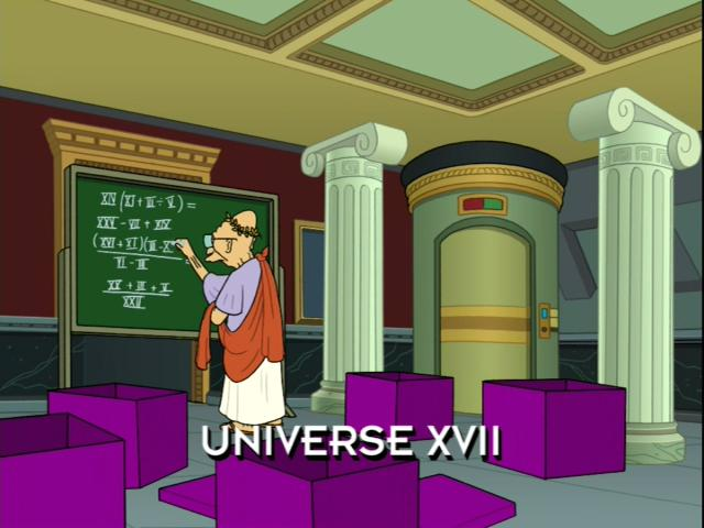 Image result for futurama the farnsworth parabox roman