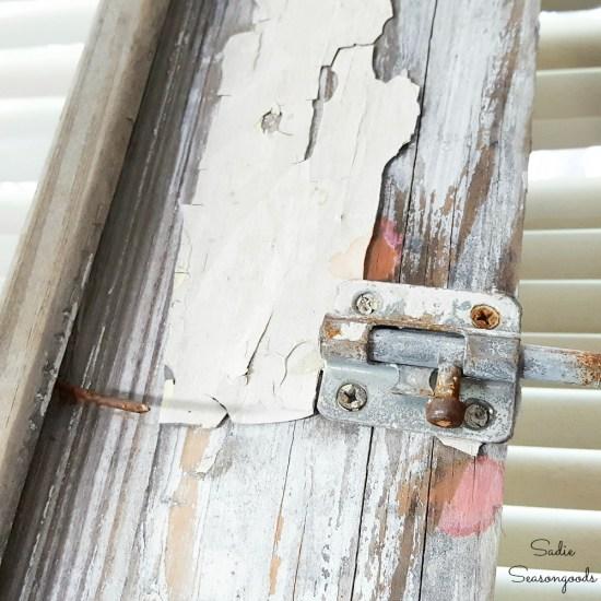 Lead paint test on salvaged wood