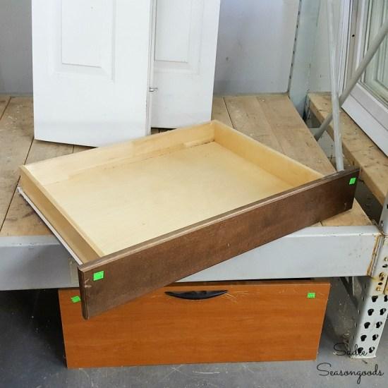 Shallow drawer at a Habitat ReStore