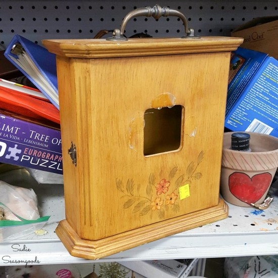 Clock box to become a power outage kit