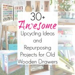 30+ Upcycling Ideas for Dresser Drawers or Storage Drawers
