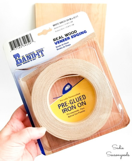 Edge banding tape to be used on oak plywood
