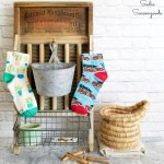 Diy Farmhouse Style Laundry Room Decor And Lost Sock Holder