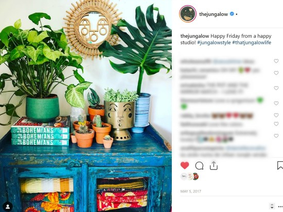 Boho decor and bohemian style as inspired by Jungalow and Justina Blakeney