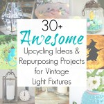 Upcycling Ideas for Vintage Light Fixtures and Glass Light Globes