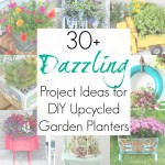 30+ Upcycling Ideas for Garden Planters or Garden Pots