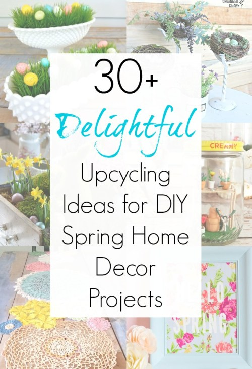 Spring crafts and Easter decor ideas and Decorating ideas for Spring