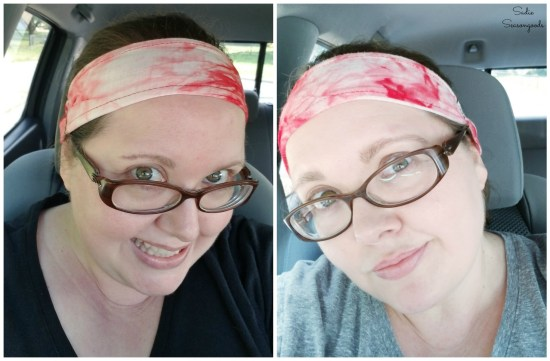 Comparing selfies after losing weight by going to the gym and portion control with meals