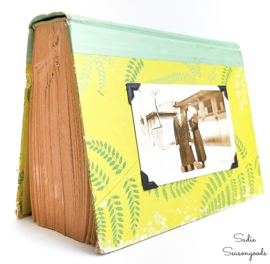 Upcycling idea for what to do with old books