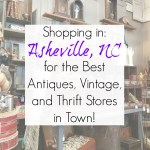 Shopping in Asheville, NC: Best Antiques, Vintage, and Thrift Stores