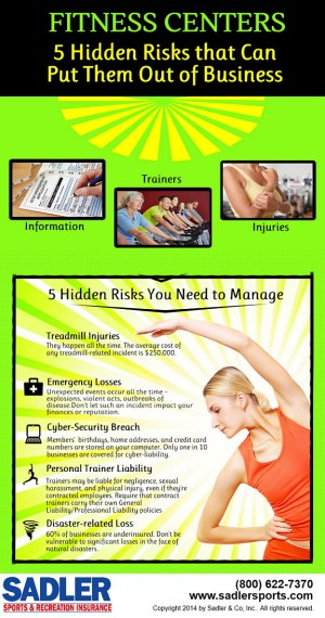 Insurance for fitness centers