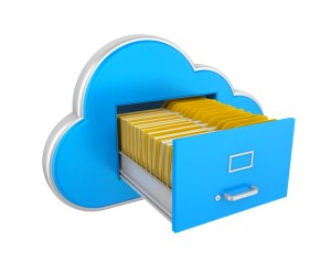 Storing files in the cloud