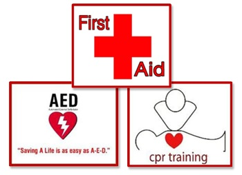 First Aid an CPR training