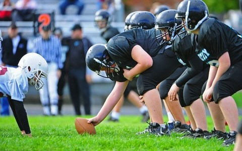 Youth football weight limits