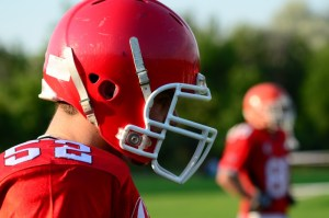 Football helmet design and concussions