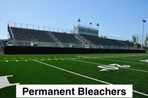 Permanent bleacher risk management