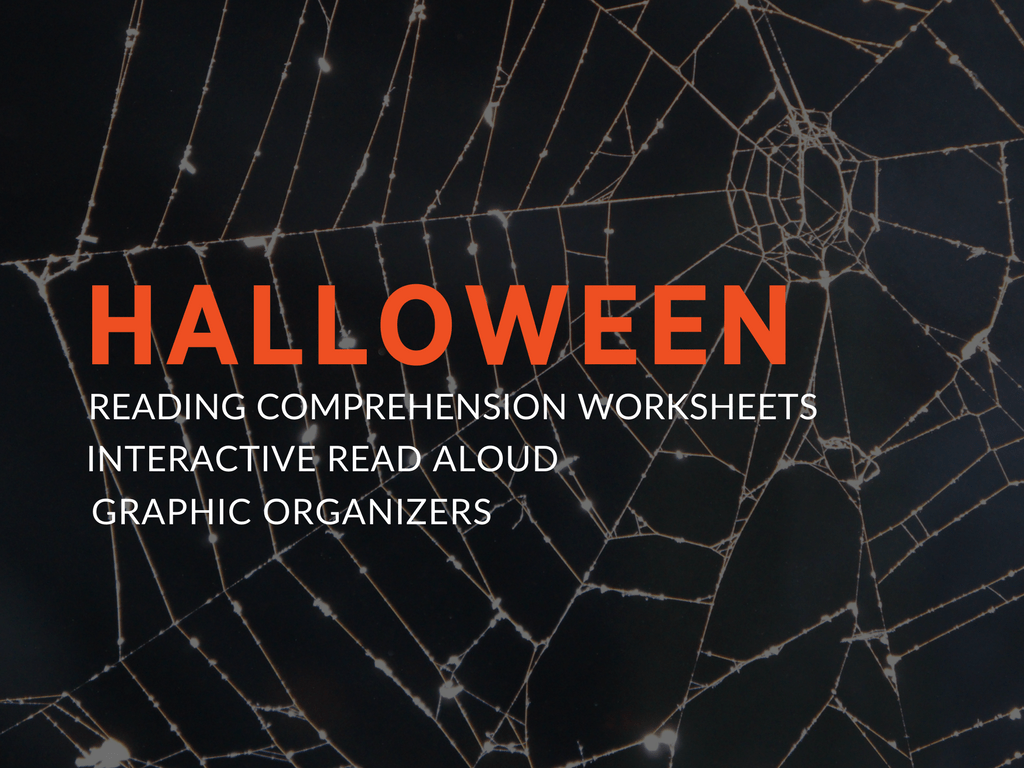 Halloween Reading Comprehension Worksheets And Graphic Organizers