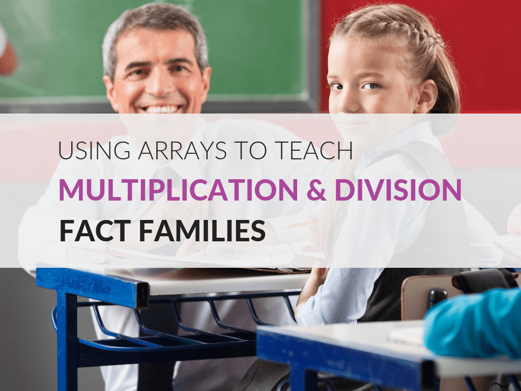 Practice Multiplication And Division Fact Families Using