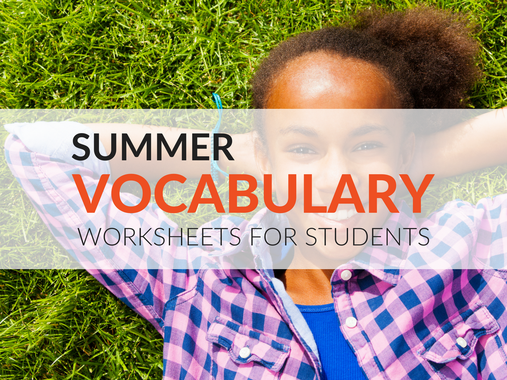 7 Fun Summer Vocabulary Worksheets For Students