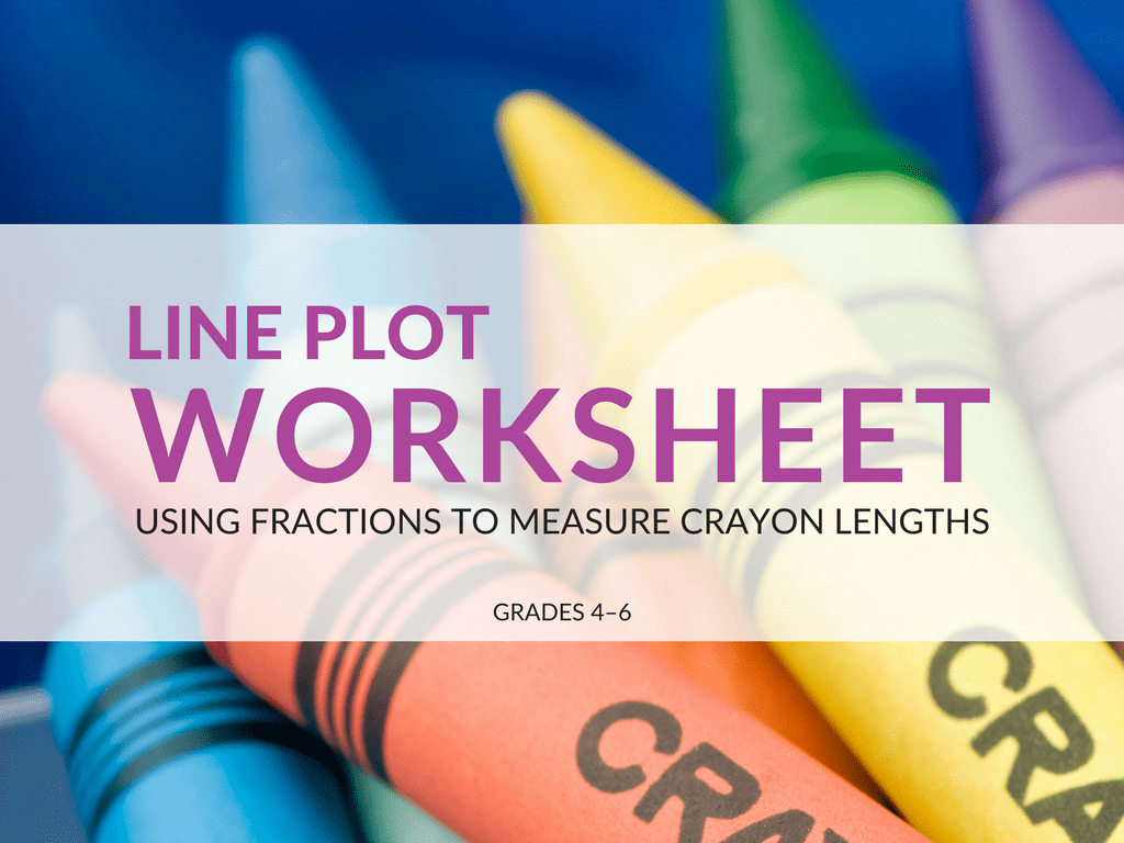 Free Line Plot Worksheet Using Fractions To Measure