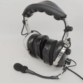 Headphones FlyHawk General Aviation PNR Passive Noise Cancelling Headset Activated