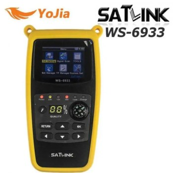 FREE SHIPPING Satlink WS-6933 Satellite Finder DVB-S2 FTA CKU Band Meter WS 6933 discount