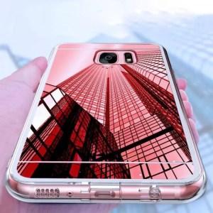 Phone Cases Original Luxury Mirror TPU Cases for Samsung Galaxy Edge Grand Prime Slim Cases