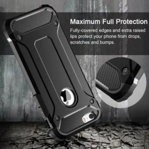 Phone Cases Shockproof Hybrid Armor Phone Back Case For iphoneX iphoneXR iphoneXS Max iphone7 iphone8 Plus 5