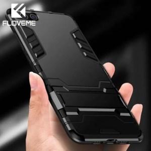 Phone Cases Shockproof Armor Case 4X Silicone Kickstand Holder For Xiaomi Pocophone Redmi 5 Plus 4X
