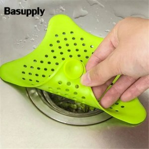FREE SHIPPING Outfall Strainer Sink Filter Anti-blocking Hair Stopper For Kitchen Bathroom Accessories Accessories