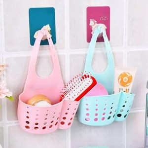 FREE SHIPPING Drain Bag Basket For Hanging Soap Dish Cloth Sponge Sink Kitchen Accessories Accessories
