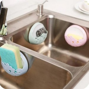 FREE SHIPPING Kitchen and Bathroom Accessories Holder Wall Mounted Suction Organizer bathroom