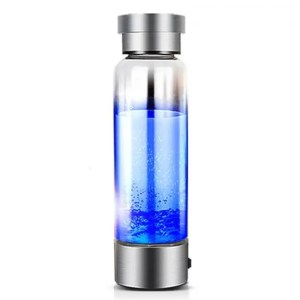 FREE SHIPPING 350ML Portable Generator Ionizer For Pure H2 Rich Hydrogen Water Bottle Bottle